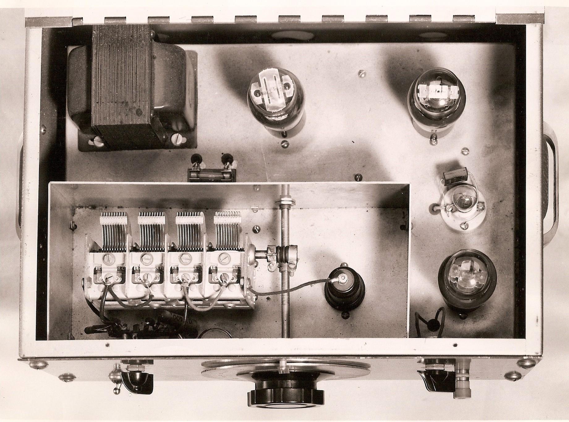 200 Audio Oscillator Exhibit Keysight Historical Archives Low Distortion Range Prototype From 1938 Internal View