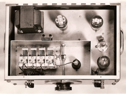 Prototype 200 from 1938: Internal View
