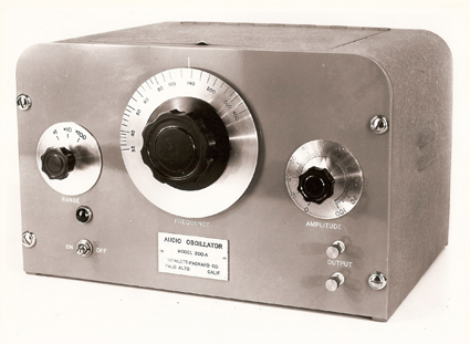 200A Audio Oscillator Production model for 1939