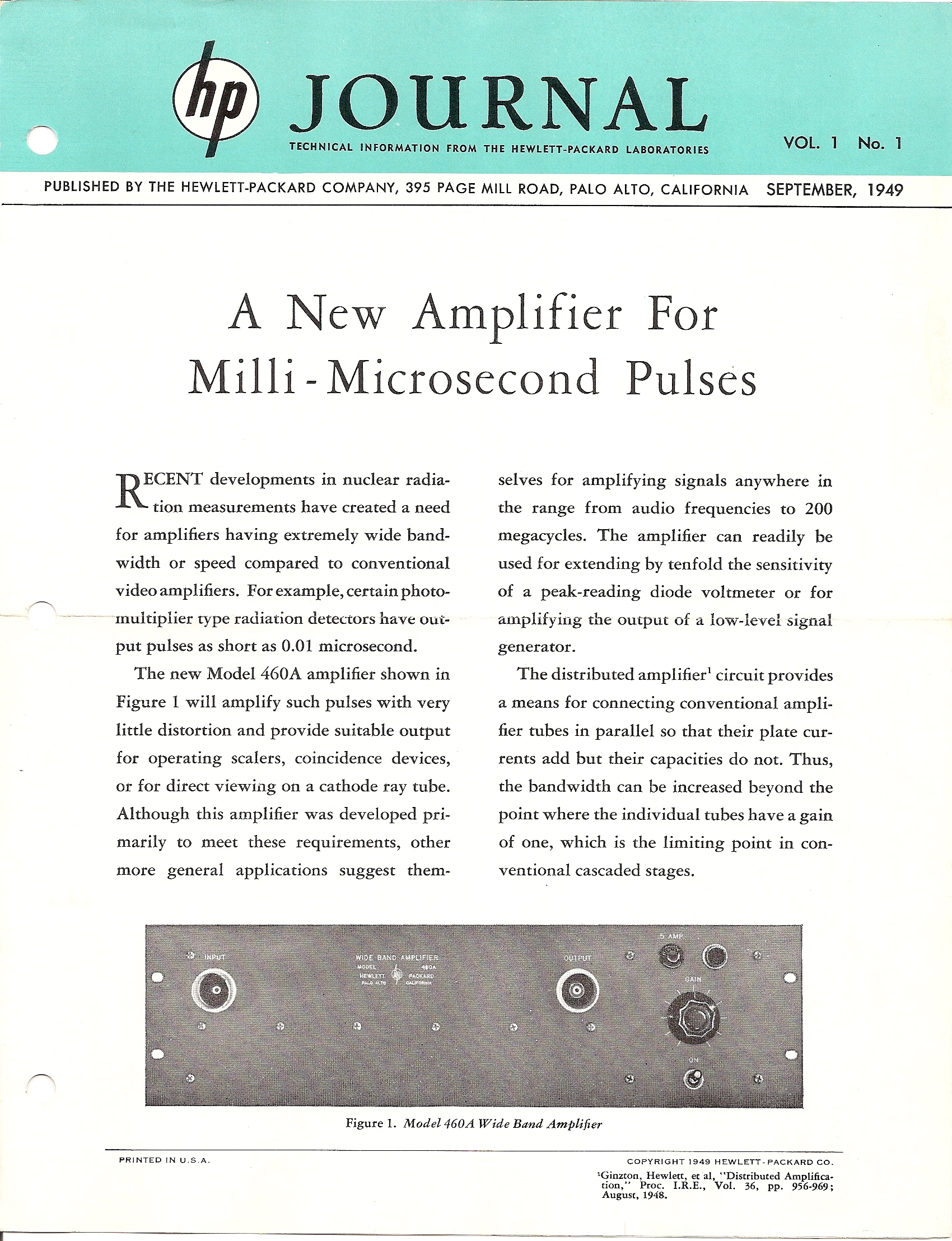 HP Journal Index | Agilent History Center – Archives