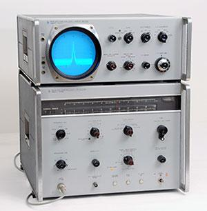 HP 8551 spectrum analyzer